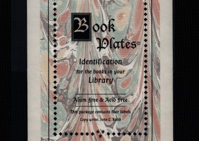 Book Plate Package (large)