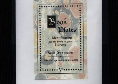 Book Plate Package (small)